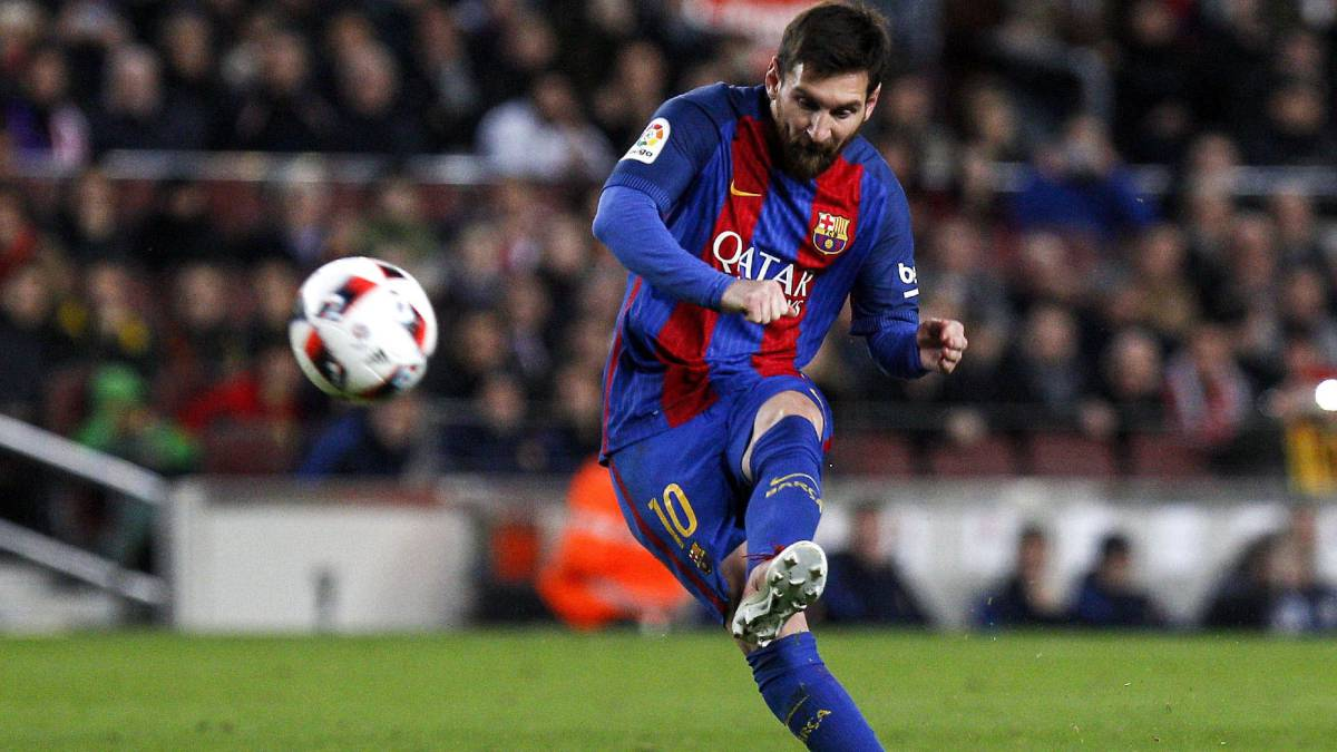 Messi slots home against Athletic Bilbao