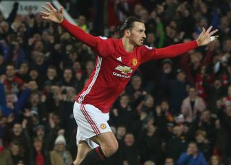 Zlatan heads home to secure share of spoils at Old Trafford