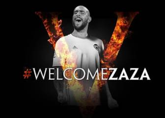 Valencia finally announce Zaza after much speculation