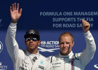 Bottas replaces Rosberg at Mercedes in