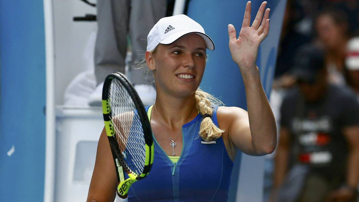 Wozniacki relieved to break sliding scale in Melbourne