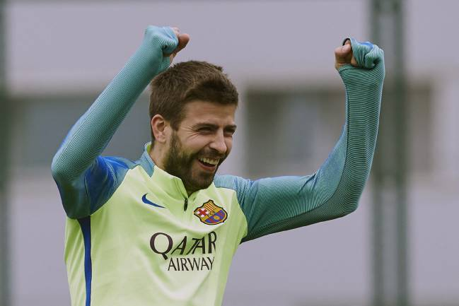 Pique has been named on the bench for Barcelona's trip to Eibar