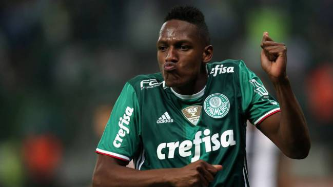 Barcelona have purchase option over Yerry Mina
