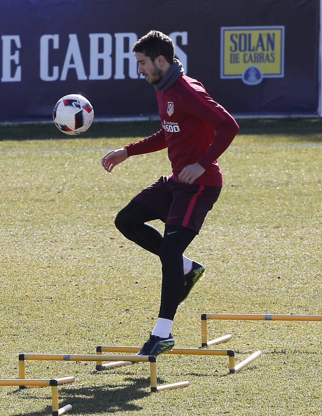 Sime Vrsaljko during Atletico Madrid training