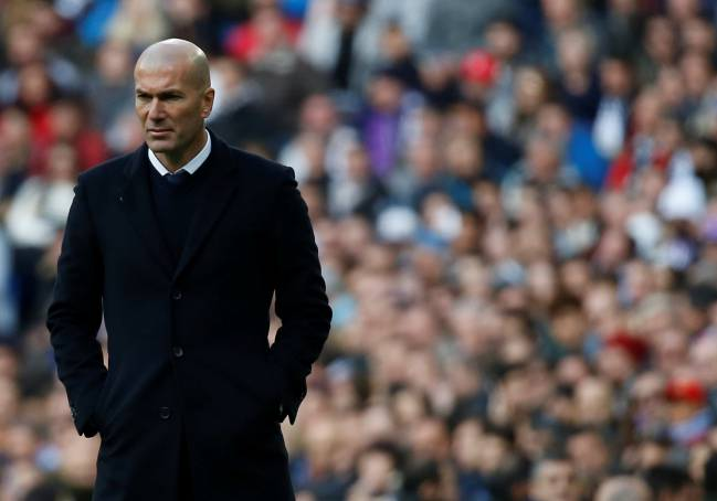 Real Madrid's manager Zinedine Zidane has plenty of injuries to consider ahead of the second leg.