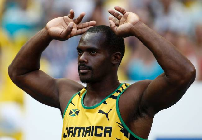 Jamaica's Nesta Carter found to have tested positive for banned substance Methylhexanamine.