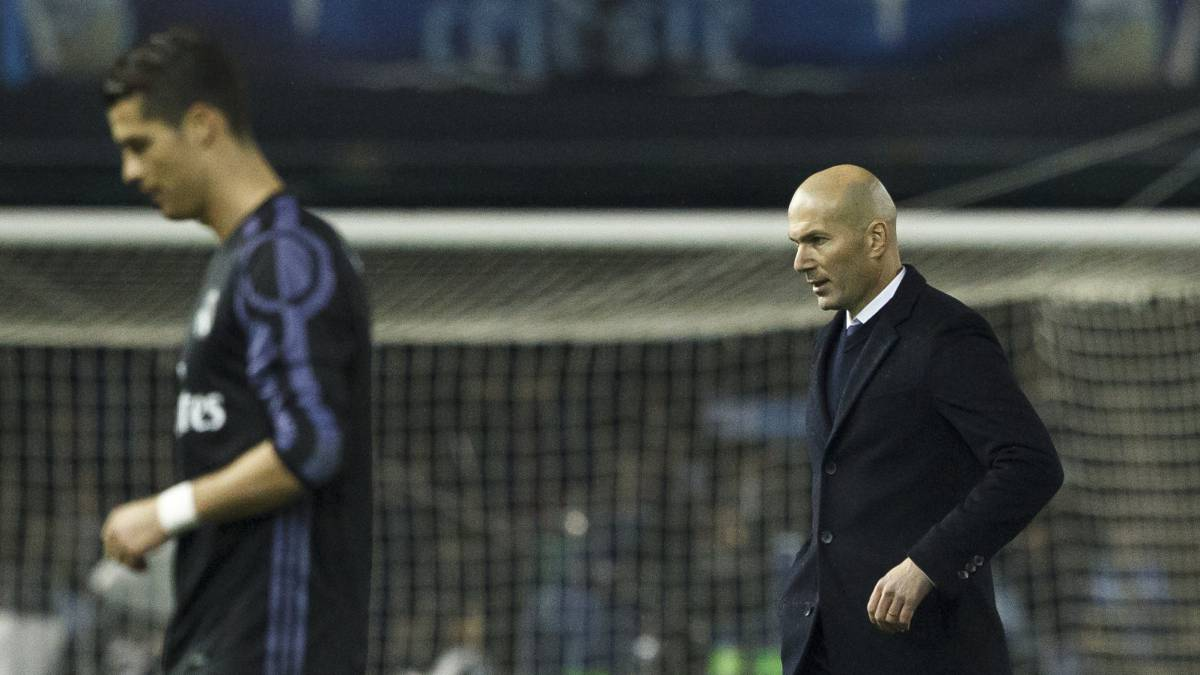 Cracks appearing in Zidane's all conquering Real Madrid