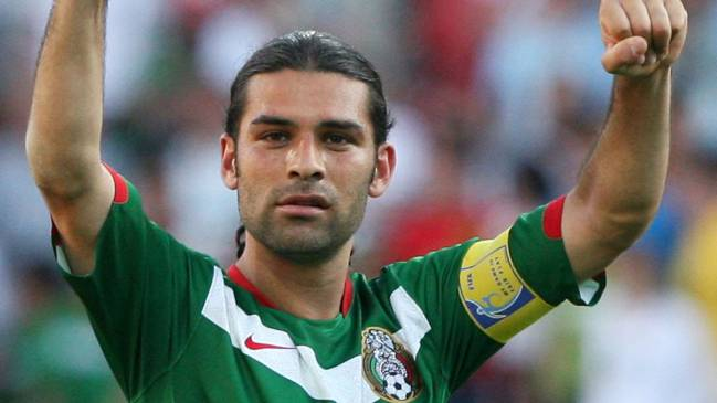 Rafael Márquez representing his country.