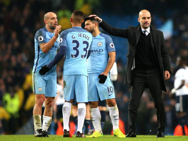 Pep Guardiola will be focused on the onfield situation Manchester City.
