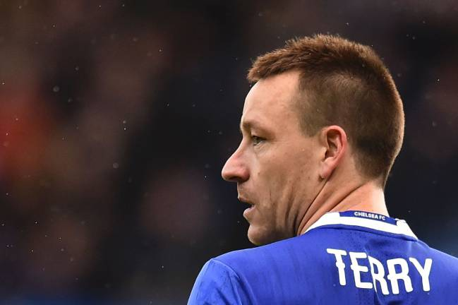 Chelsea's English defender John Terry has been part of many a big clash with Liverpool