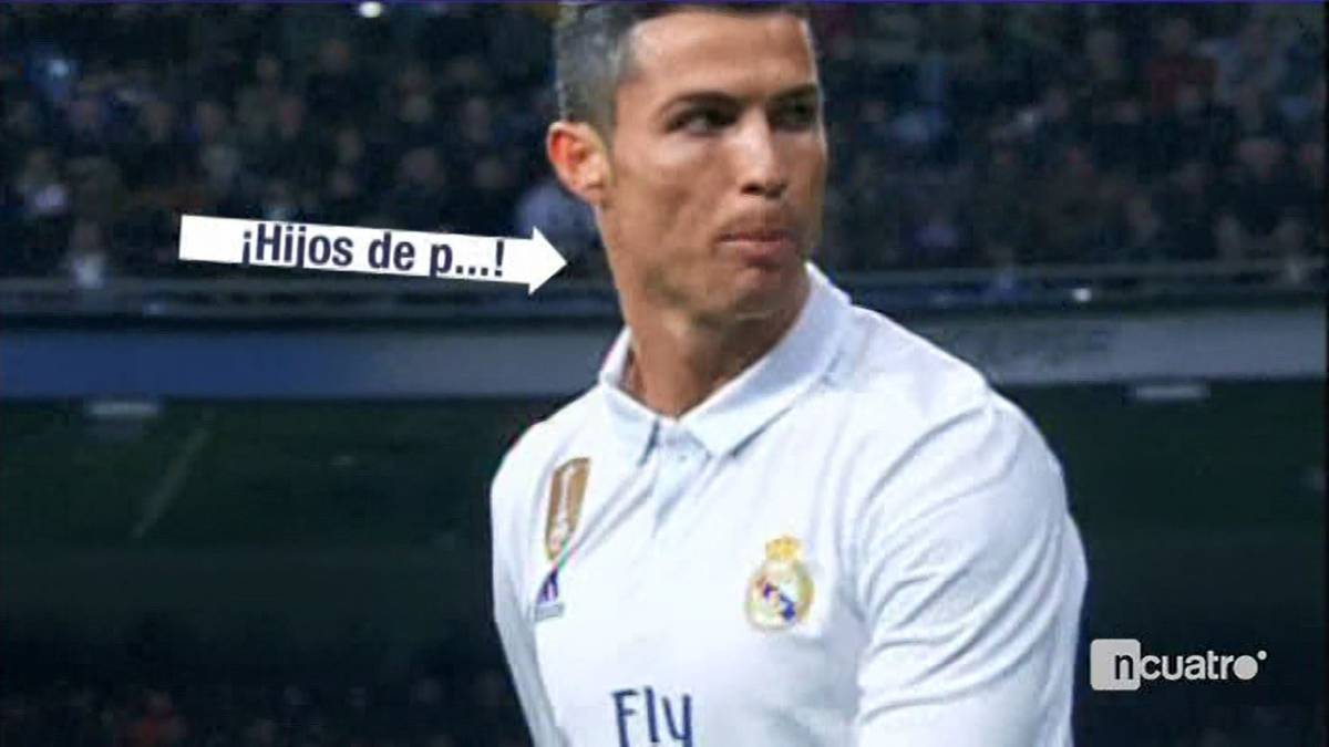 Cristiano Ronaldo: Real Madrid ace swears at Bernabéu boo-boys