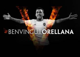 Valencia confirm Orellana deal