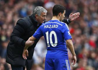 Hazard reveals key differences between Conte and Mourinho