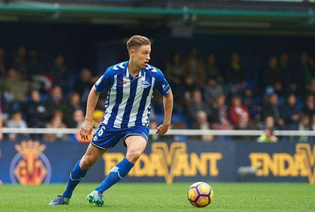 Real Madrid's Marcos Llorente will need to be on the ball for Alaves against Celta Vigo.