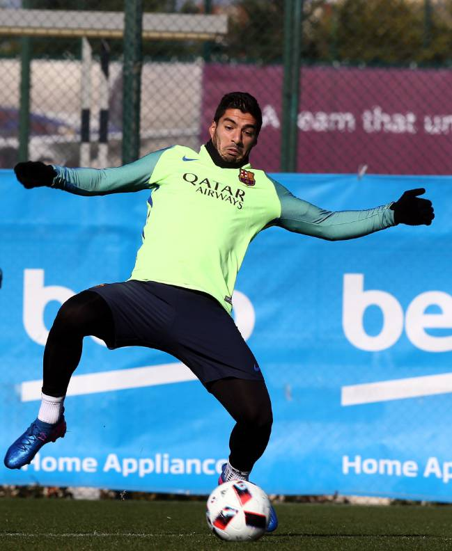 Barcelona's Luis Suárez was rested at the weekend so expect him to be all guns blazing for the semi.