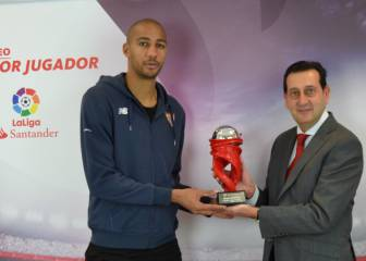 N'Zonzi awarded 'LaLiga Player of the Month' for January