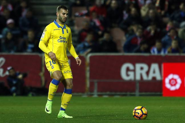 Jese will be hoping to improve on his Las Palmas debut last weekend when he missed a sitter.