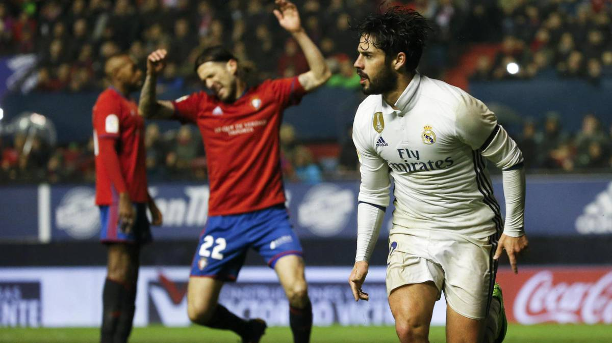 Osasuna - Real Madrid: match report and goals, LaLiga week 22