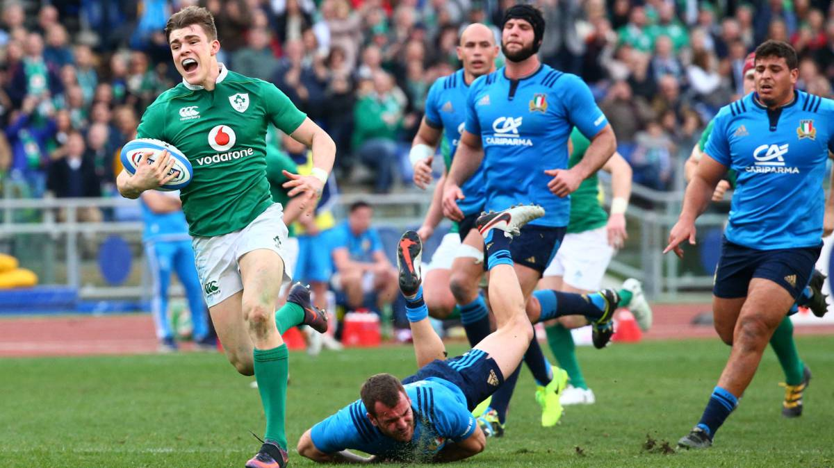 Ireland rack up record Six Nations win in Italy rout