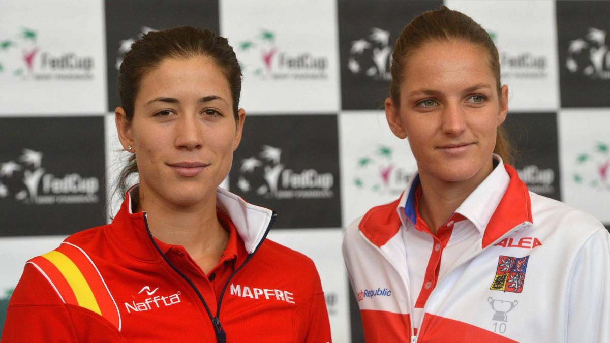 Czech Republic and Spain level in Fed Cup quarter-finals