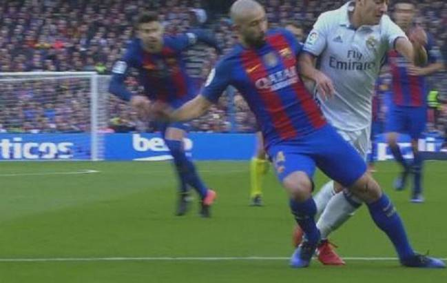 Barcelona have gone a year without having a penalty awarded against them