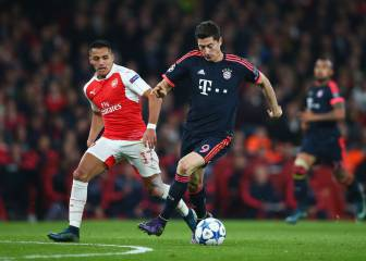 'Arsenal won't get many chances': fighting talk from Lewandowski