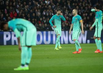 Barça's worst equal European defeat handed out by PSG