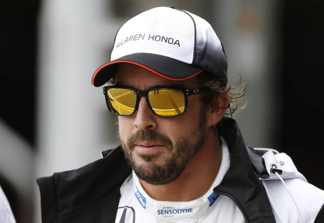 McLaren's Fernando Alonso hoping to be sitting on top of more horse-power this season.