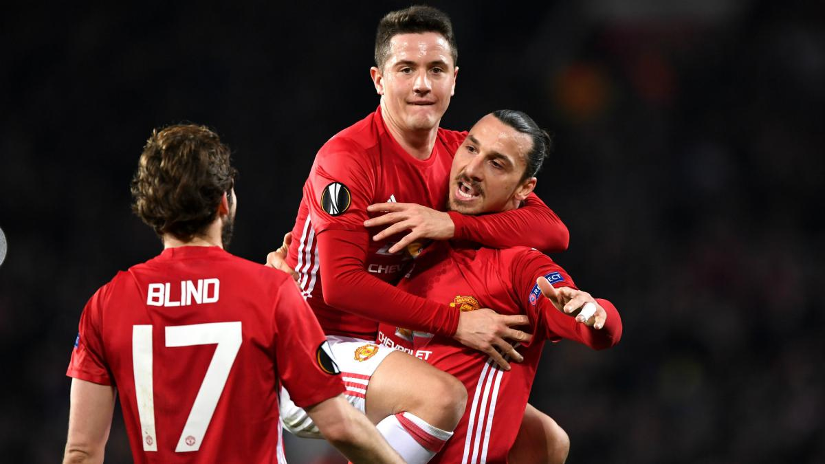 Ibrahimovic hat-trick puts Mourinho's men in charge