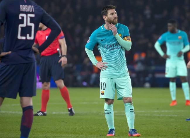 Messi and co. have a lot of thinking to do ahead of the PSG second leg.