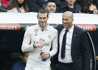 Zidane reveals what he said to Bale before comeback goal