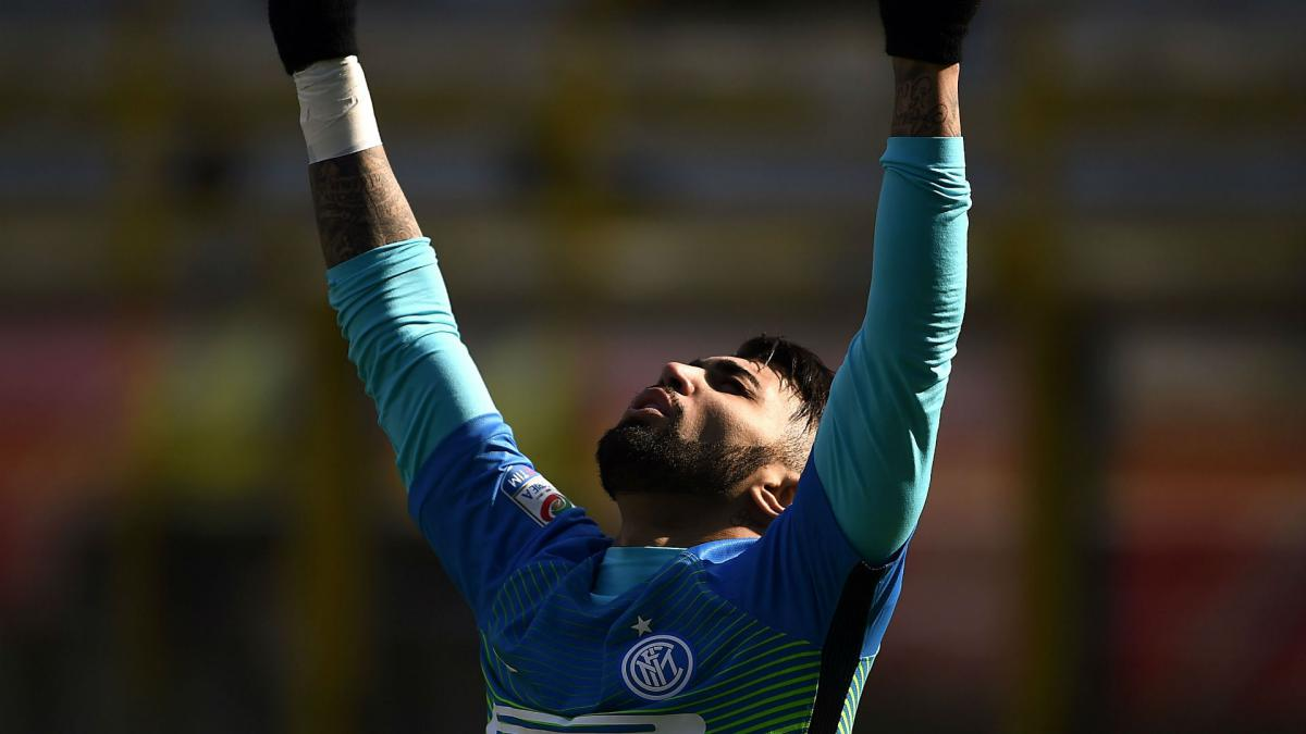 Gabigol finally off the mark in Serie A with Inter winner