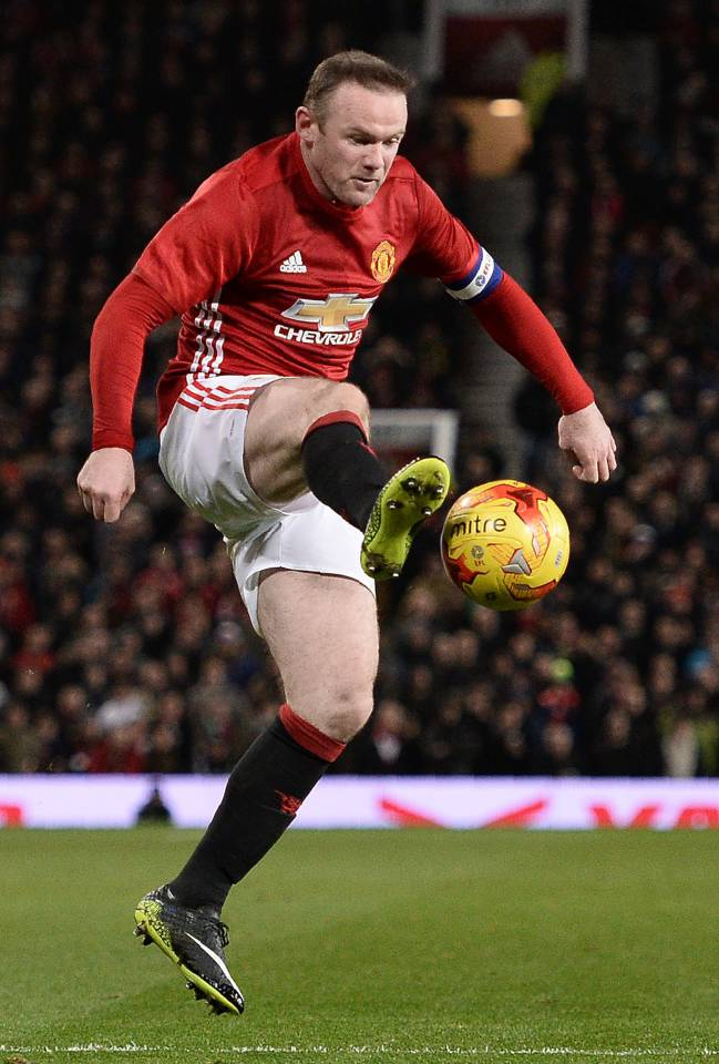 Manchester United's English striker Wayne Rooney could be off to China before the February deadline ends.