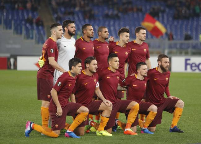 What changes will be made for the Roma line-up after this one against Villarreal?