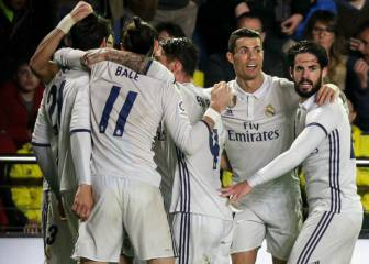 Madrid dig deep to secure vital win against Villarreal