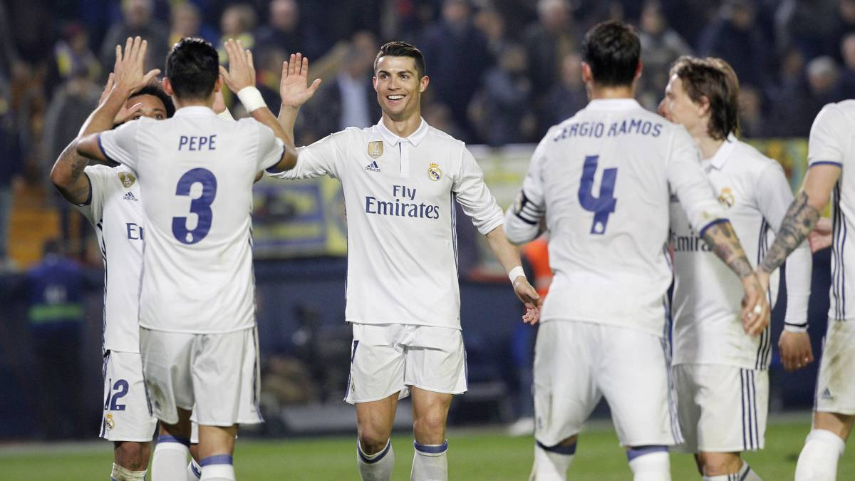 Real Madrid equal Barcelona's 73-year record against Villarreal