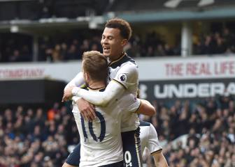 Tottenham overwhelm Stoke with another Kane hat-trick