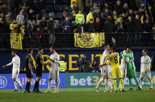 Villarreal vs Real Madrid: the most recent controversy