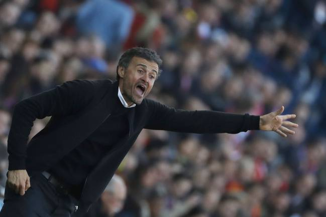 Taxi for Luis Enrique, some people are suggesting.