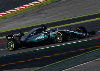Mercedes and Ferrari enjoy flying start to testing