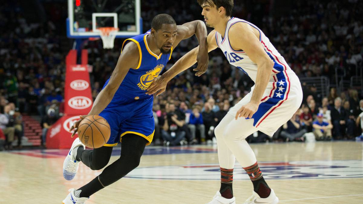 "Kevin Durant: Warriors ace out ""indefinitely"" with ligament sprain"