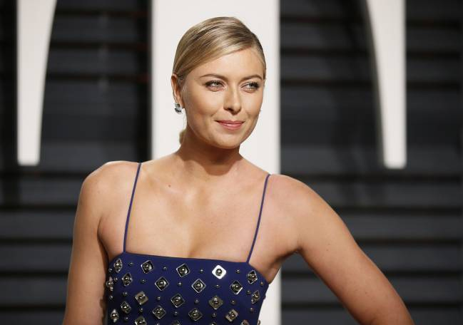 Tennis player Maria Sharapova.