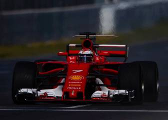 Raikkonen fastest as Hamilton hit with electrical fault