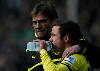 Klopp exchanges messages with Dortmund's Götze