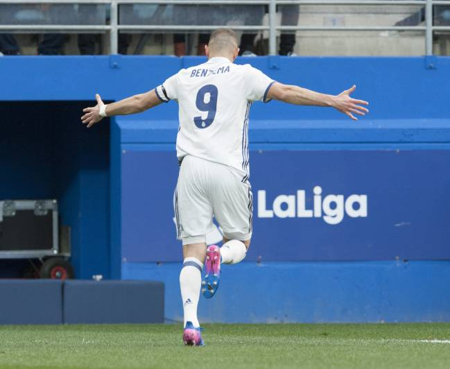 Karim Benzema appeared reborn, free from certain shackles.