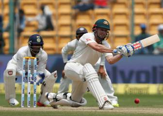 Marsh, Renshaw hand Australia edge in India second Test