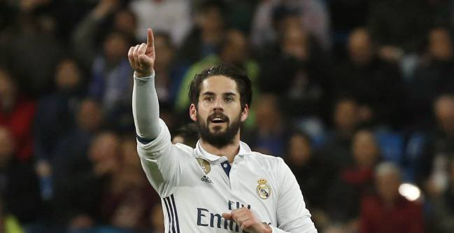 Isco's agent has met with PSG representatives