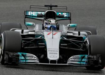 Flying Finn Valtteri Bottas dominates F1 testing