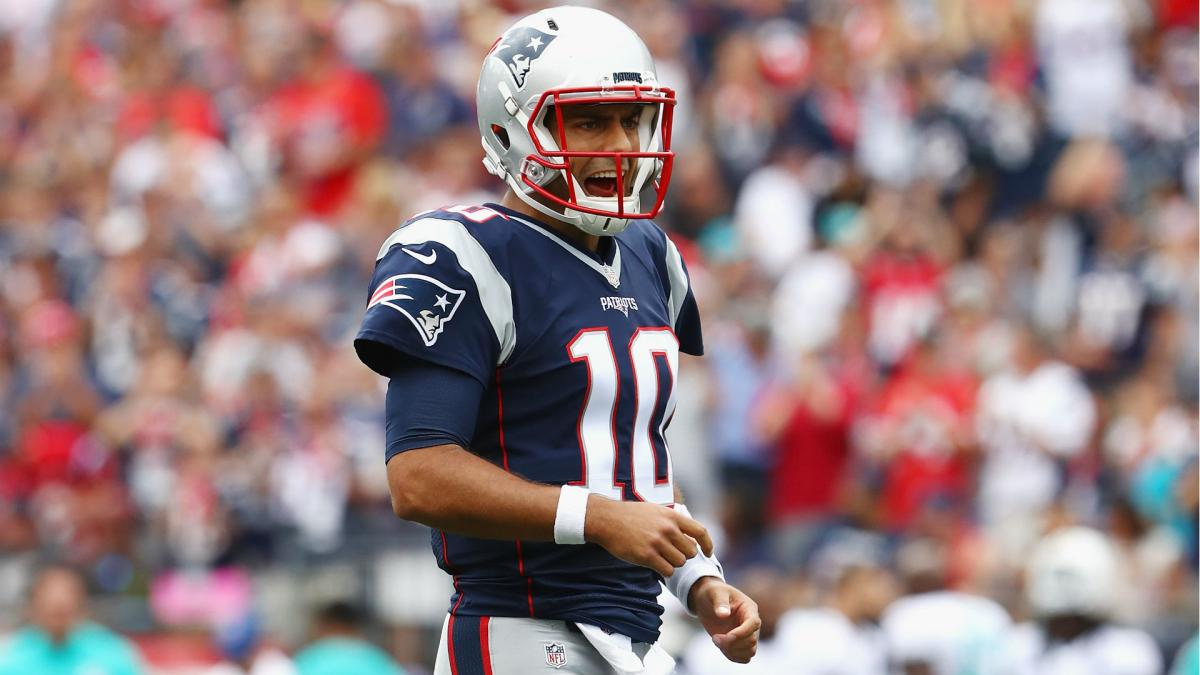 "New England's Garoppolo hacked on social media: ""Peace out Boston"""