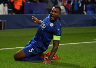 Wes Morgan becomes first Jamaican to score in Champions League